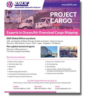 DHX - Dependable Hawaiian Express Project Cargo (Oversize) U.S. Brochure
